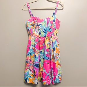 Lilly Pulitzer Dresses - Lilly Pulitzer Fit and Flare Dress Size 4